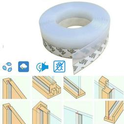 10M Door Seal Strip Bottom Self Adhesive Weather Stripping S