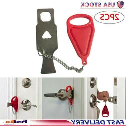 2PC Addalock Door Hardware Portable Tool Safety Security Pri