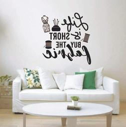 Buy The Fabric Sew Sewing Quote Wall Sticker Vinyl Art Home