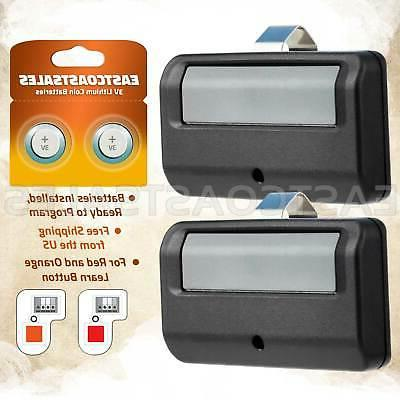 2 for liftmaster 971lm 1 button car