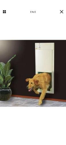 Pet Door Electronic Large 12 in. For Dog Cat
