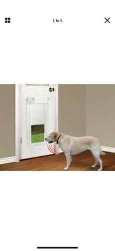 Pet Door Electronic 12 in. x in. Dog And Cat Automatic