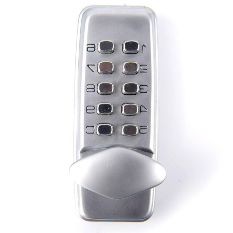 Keyless Locks Digital mechanical Code Keypad Password Door H