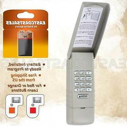 390mhz RED Learn Button Keypad and 2 Remotes for Liftmaster Garage Door Opener 973LM + 977LM