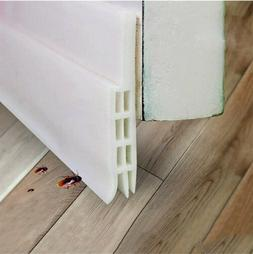 NEW Door Bottom Self Adhesive Weather Stripping Silicone Rub