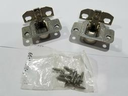 """PAIR of AMEROCK 2010-33, 35mm 120 Degree Hinges with 1-1/4""""+"""