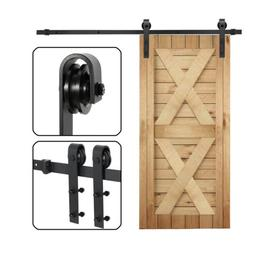 Sliding Barn Door Hardware Kit 6.6FT Modern Closet Hang Styl