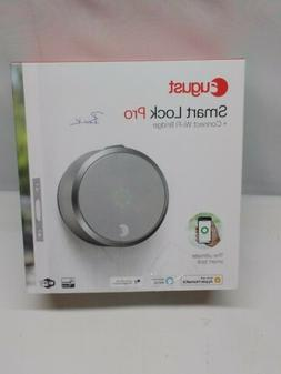 August Smart Lock Pro 3rd Generation with Connect Wi-Fi Brid